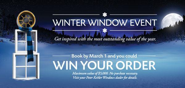 Peter Kohler Windows And Door Winter Booking Now On